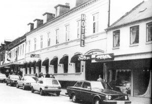 Hotel Sika i Hammel, efter restaurering i 1967