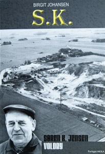 Søren K. Jensen, Voldby - Portræt bog af Birgit Johansen