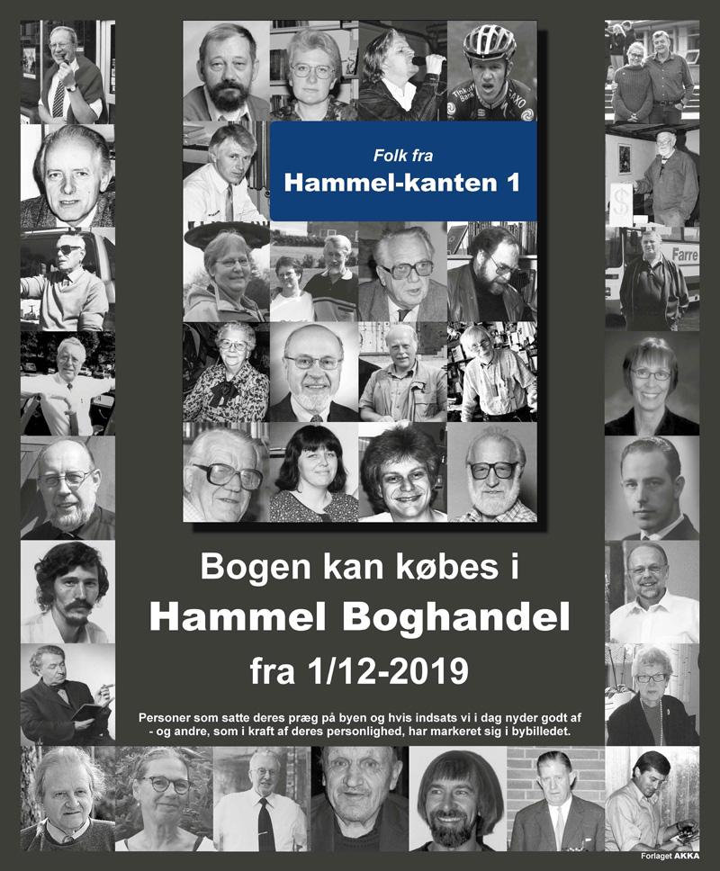 Folk fra Hammel-kanten, en portræt bog.